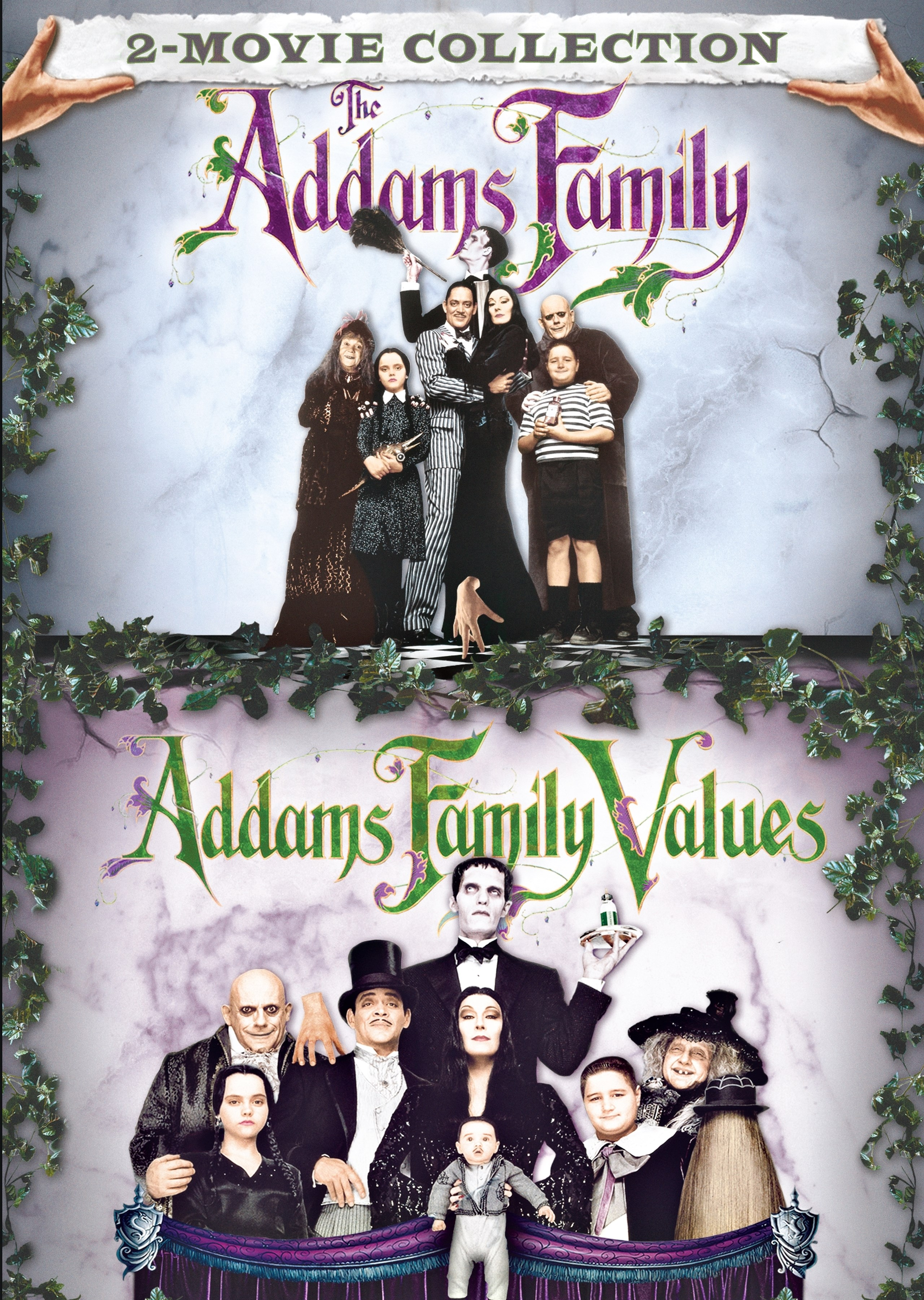 The Addams Family Addams Family Values 2 Discs Dvd
