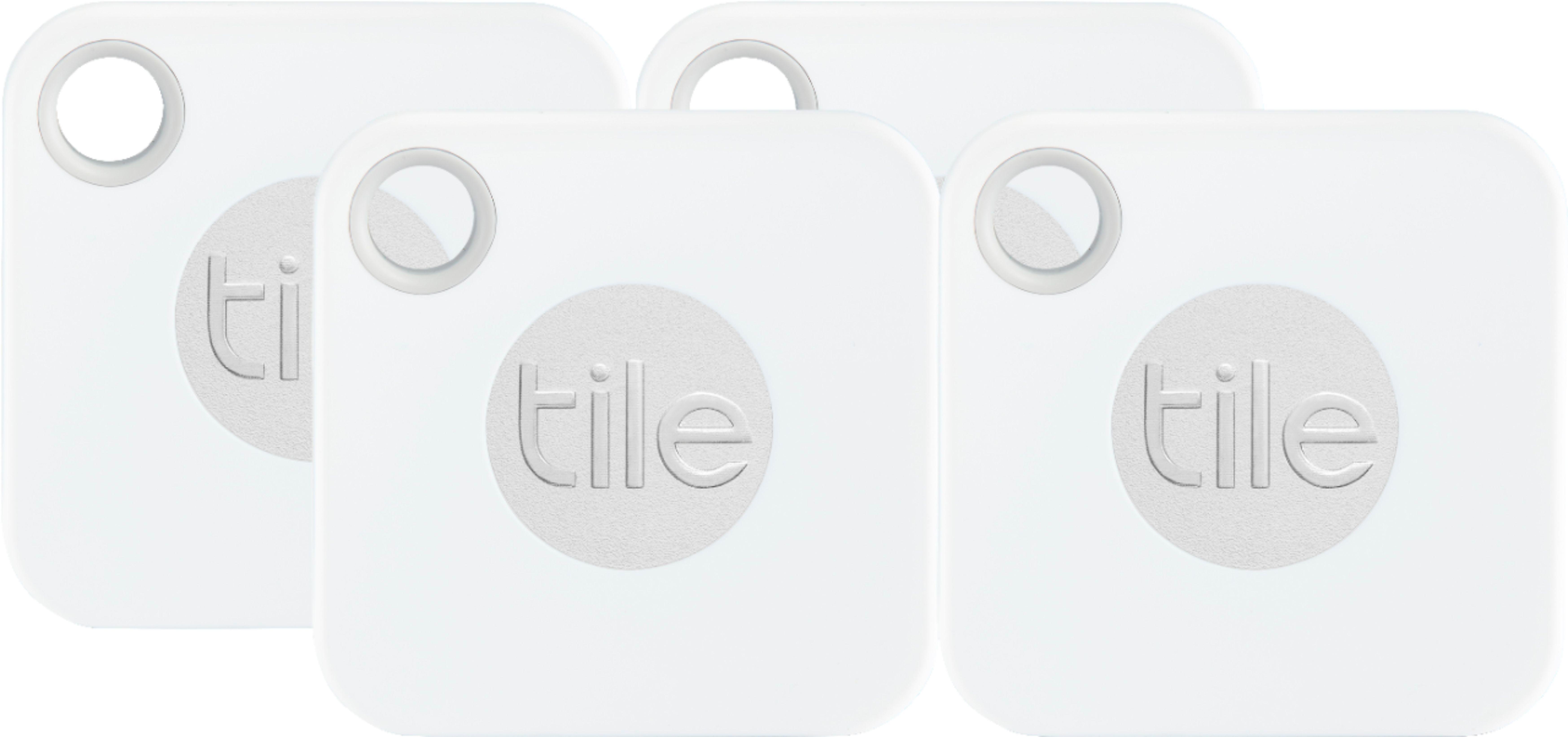tile mate 2018 item tracker 4 pack white gray
