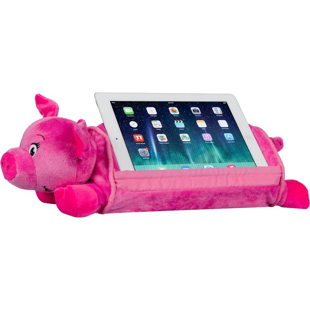 lapgear lap pets pig tablet pillow stand for most tablets up to 10 1 pink