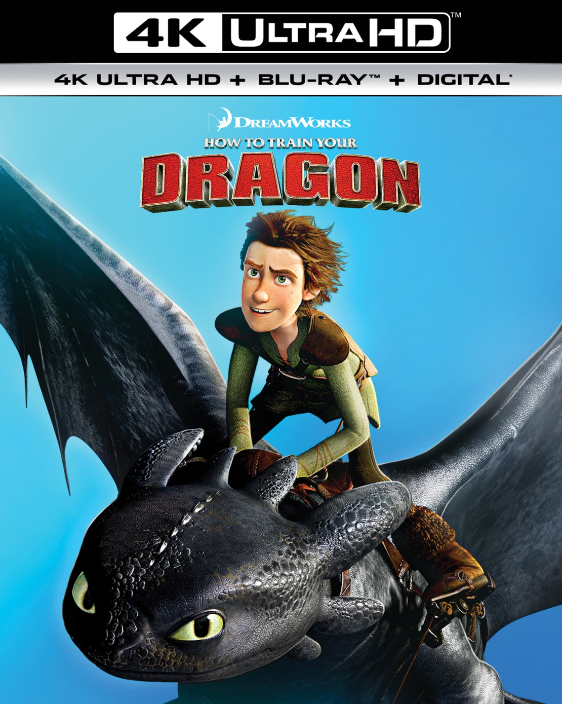 How to Train Your Dragon [Includes Digital Copy] [4K Ultra HD Blu-ray/Blu-ray] [2010]