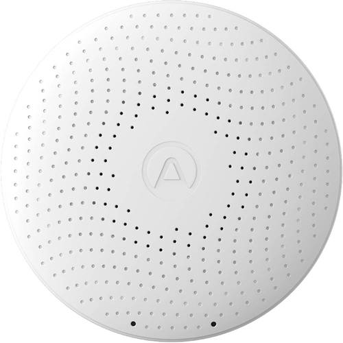 Airthings - Wave Plus Smart Indoor Air Quality Monitor with Radon Detection - White
