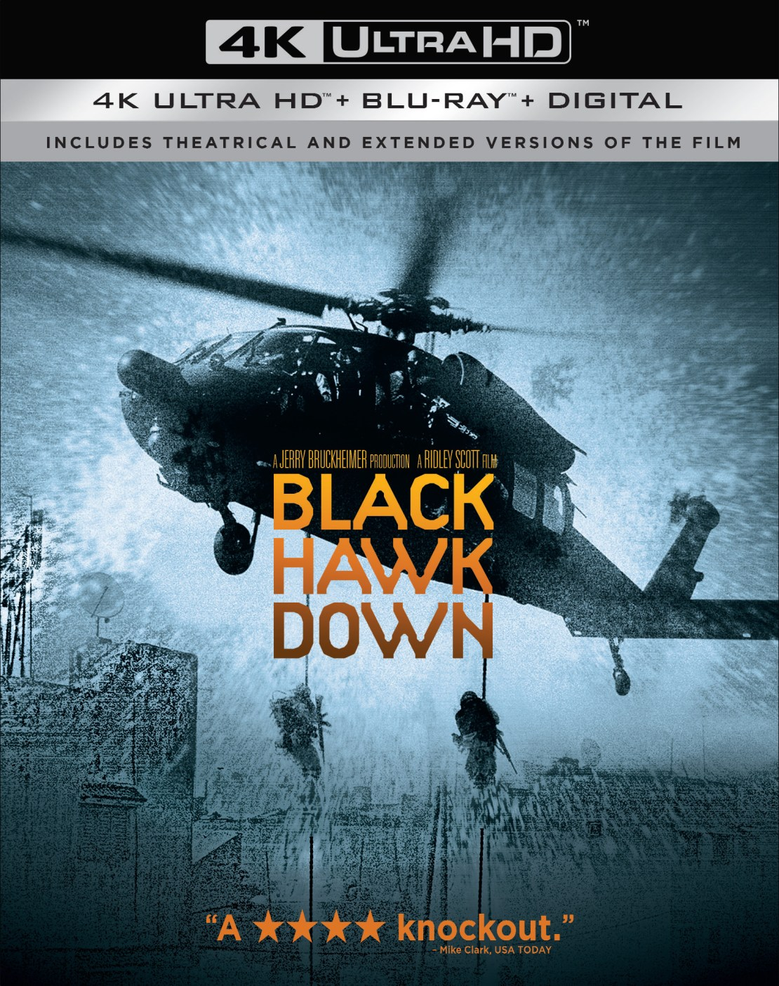Black Hawk Down [Includes Digital Copy] [4K Ultra HD Blu-ray/Blu-ray] [2001]