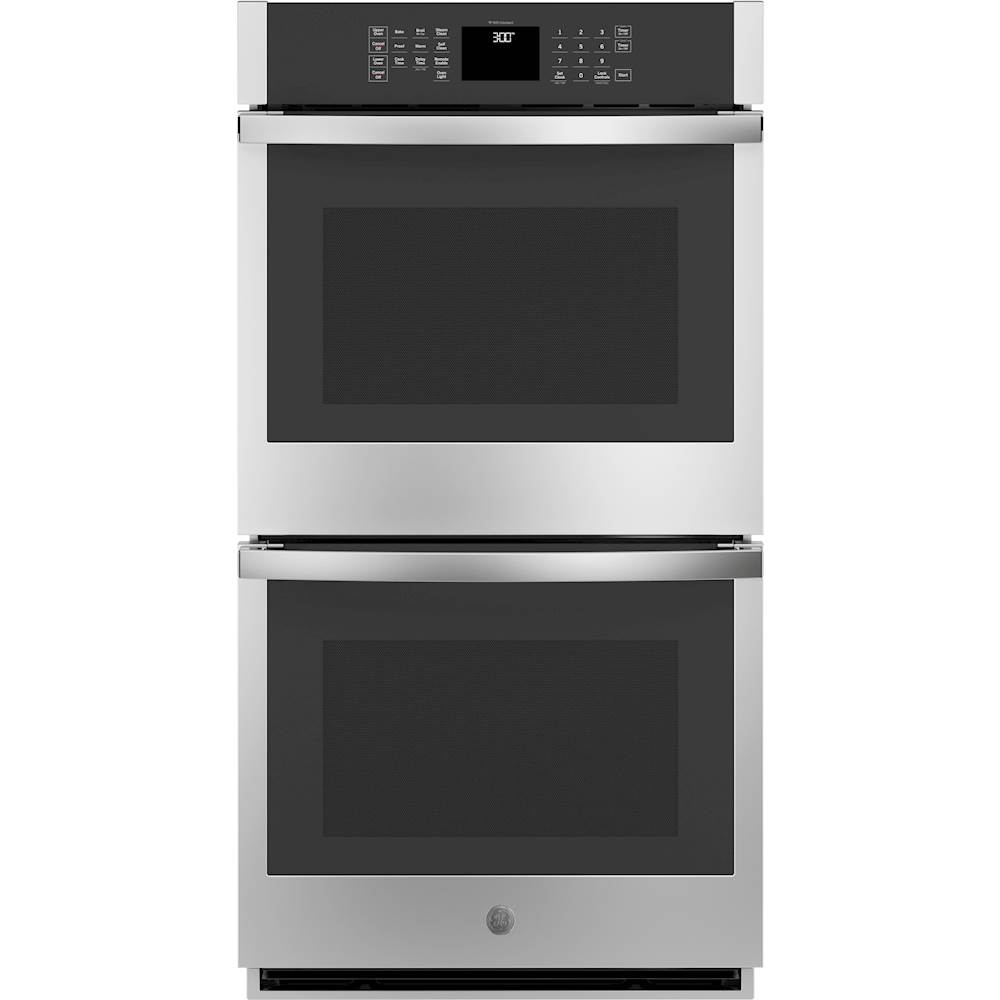 ge 27 built in double electric wall oven stainless steel