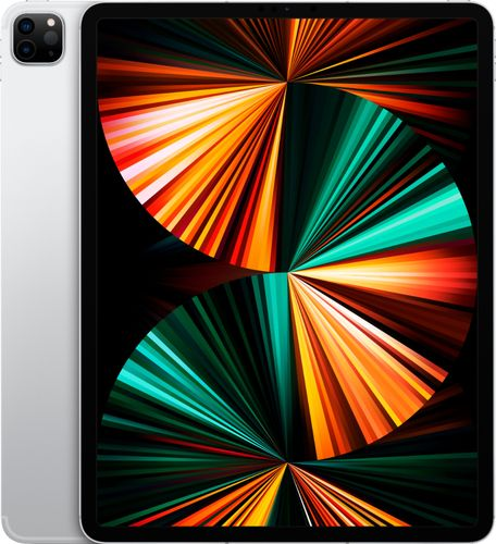 Apple - 12.9-Inch iPad Pro (Latest Model) with Wi-Fi + Cellular - 512GB (Verizon) - Silver