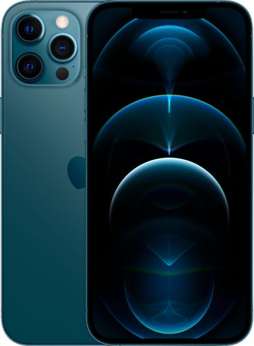 Apple - iPhone 12 Pro Max 5G 512GB - Pacific Blue (AT&T)