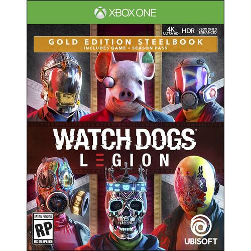 Watch Dogs: Legion Gold Edition SteelBook - Xbox One, Xbox Series X