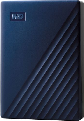 WD - My Passport for Mac 4TB External USB 3.0 Portable Hard Drive - Blue