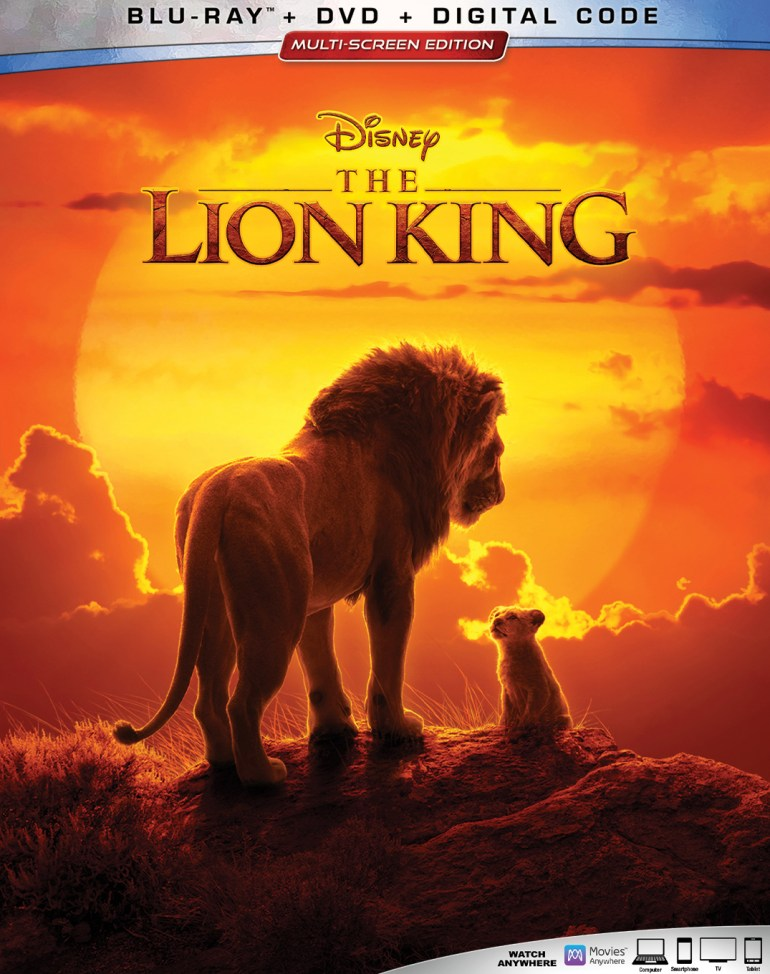 The Lion King [Includes Digital Copy] [Blu-ray/DVD] [2019]