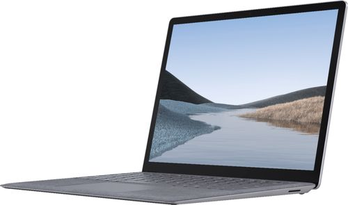 """Microsoft - Surface Laptop 3 - 13.5"""" Touch-Screen - Intel Core i7 - 16GB Memory - 256GB Solid State Drive - Platinum"""