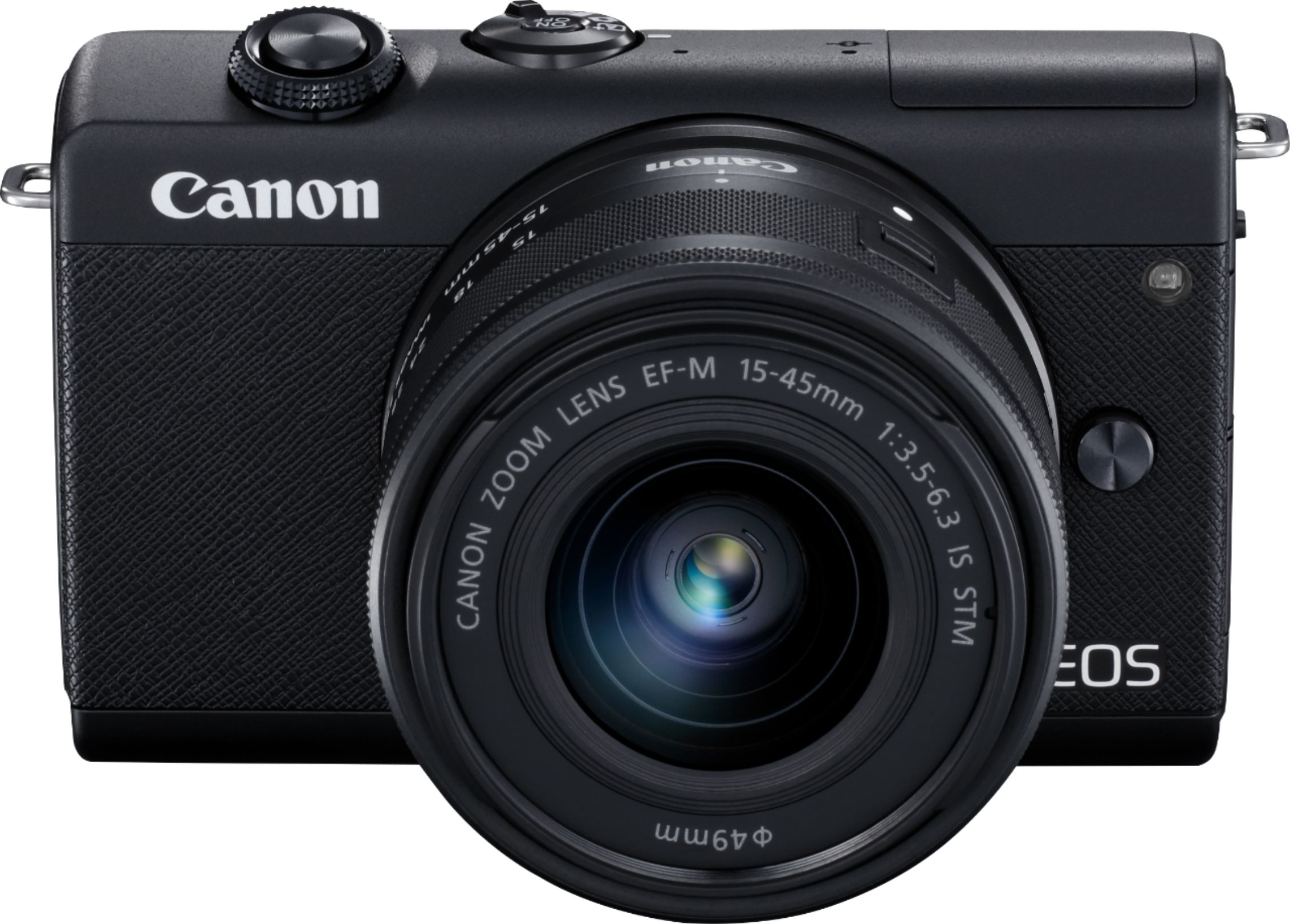 Canon EOS M200 Mirrorless Camera with EF-M 15-45mm Lens Black 3699C009 - Best Buy