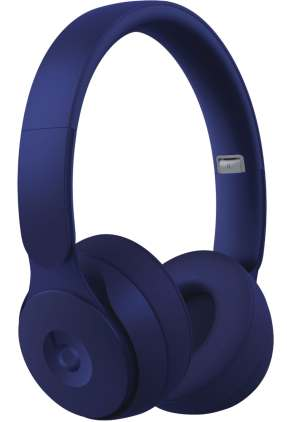 Zoom in on Front Zoom. Beats by Dr. Dre - Solo Pro More Matte Collection Wireless Noise Cancelling On-Ear Headphones - Dark Blue.