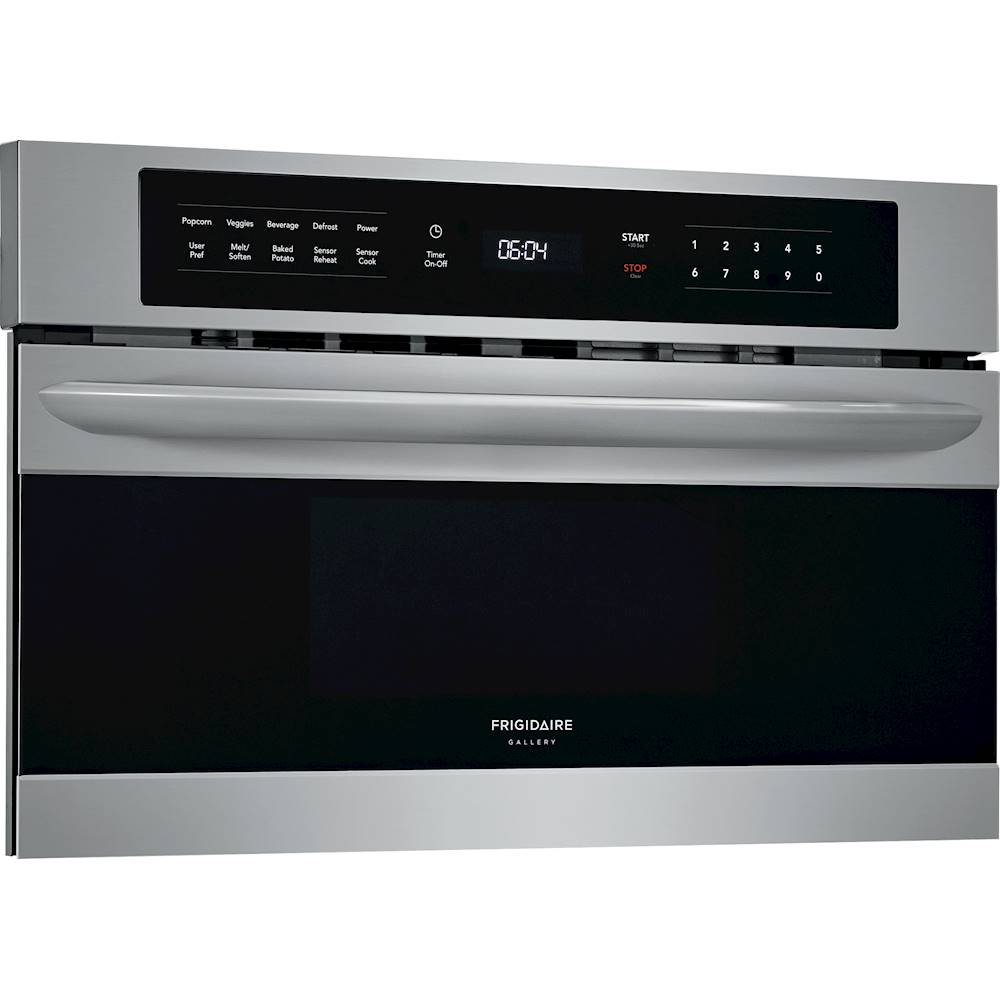 frigidaire gallery 1 6 cu ft built in microwave stainless steel