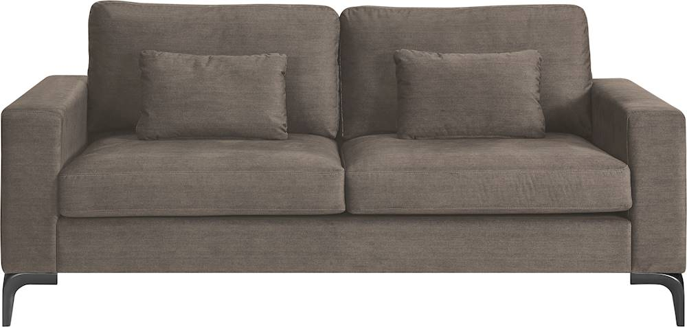 finch austin 3 seat fabric sofa neutral buff