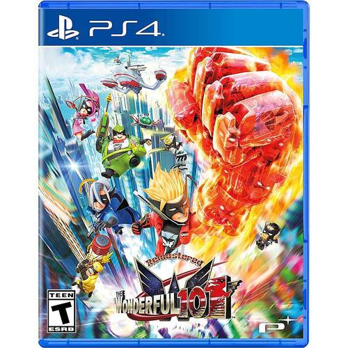 The Wonderful 101 Remastered Edition - PlayStation 4, PlayStation 5
