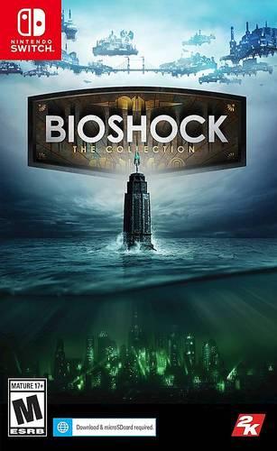 BioShock: The Collection Standard Edition - Nintendo Switch, Nintendo Switch Lite