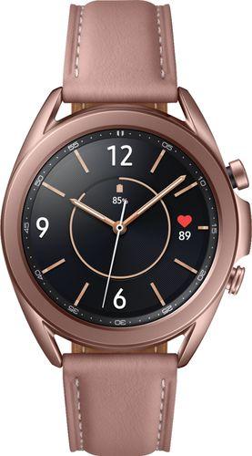 Samsung - Galaxy Watch3 Smartwatch 41mm Stainless BT - Mystic Bronze
