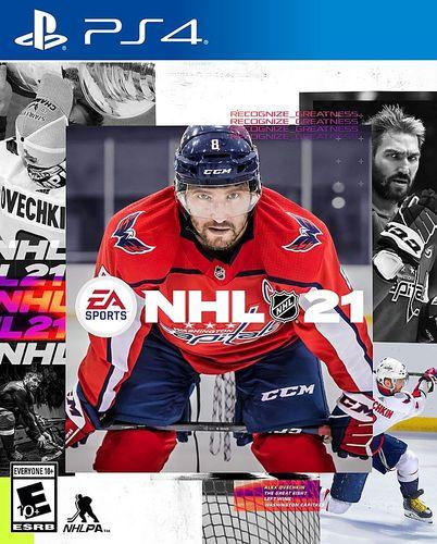 NHL 21 Standard Edition - PlayStation 4, PlayStation 5