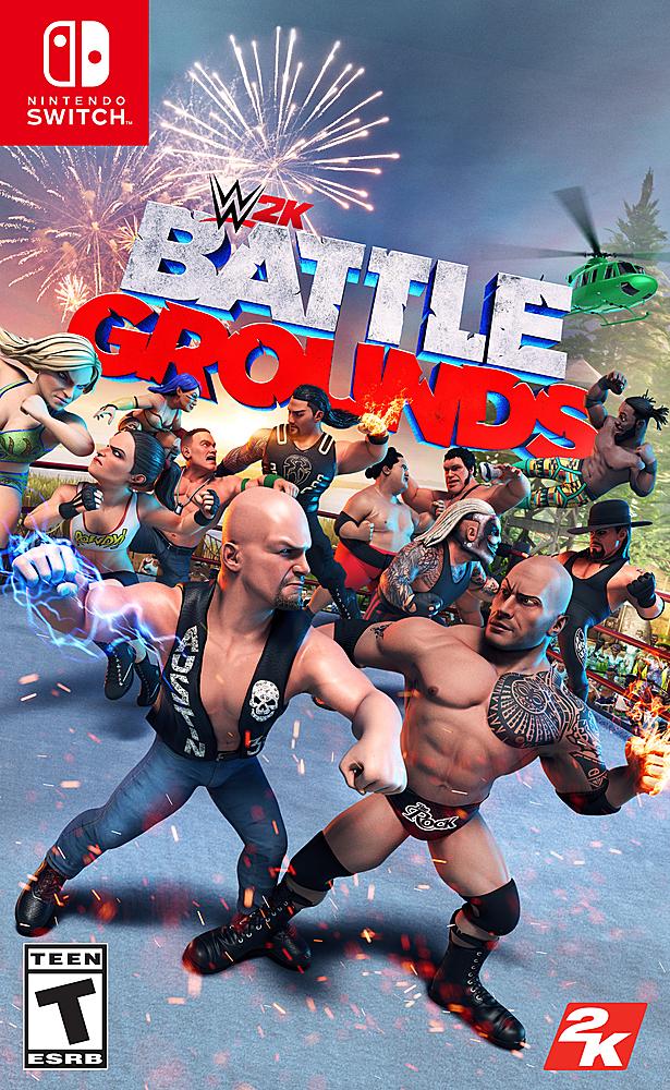 WWE 2K Battlegrounds Standard Edition - Nintendo Switch