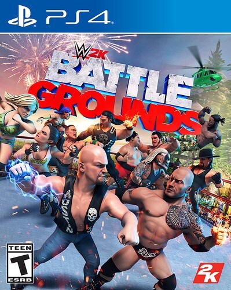 WWE 2K Battlegrounds Standard Edition - PlayStation 4, PlayStation 5