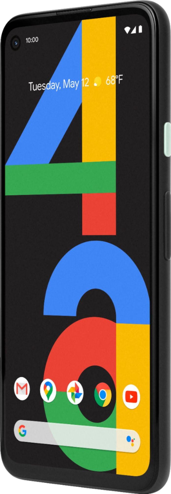 Google Pixel 4a 128gb Unlocked Just Black Ga02099 Us Best Buy