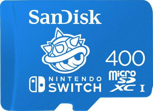 SanDisk - 400GB microSDXC UHS-I Memory Card for Nintendo Switch