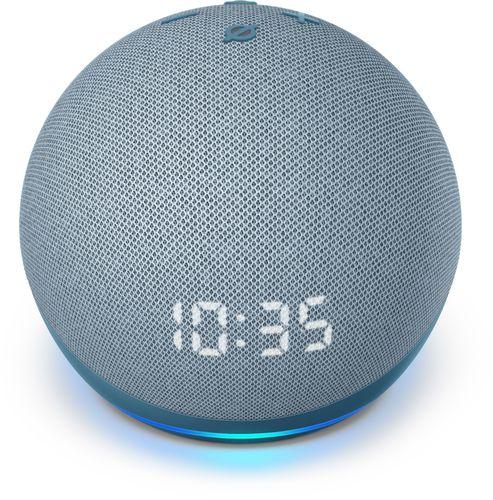 Amazon - Echo Dot (4th Gen) Smart speaker with clock and Alexa - Twilight Blue