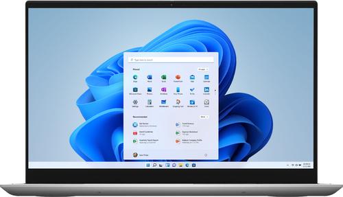 "Dell - Inspiron 7000 2-in-1 - 15.6"" FHD Touchscreen Laptop - 11th Gen Intel Core i5 - 12GB RAM - 512GB SSD+32GB Optane - Silver"