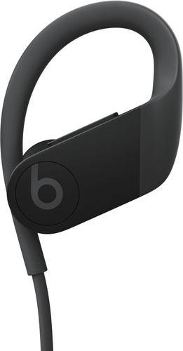 Beats by Dr. Dre - Geek Squad Certified Refurbished Powerbeats High-Performance Wireless Earphones - Black