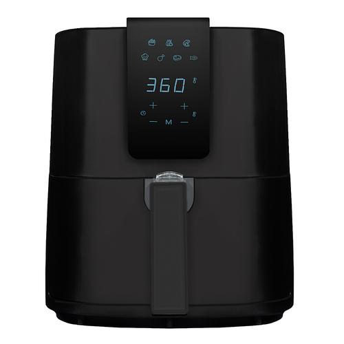 Emerald - 5.2L Digital Air Fryer - Black