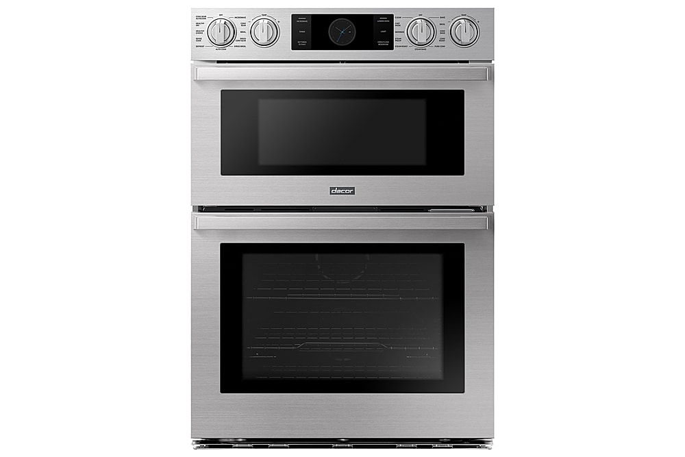 dacor transitional 30 built in electric microwave combination wall oven with steam