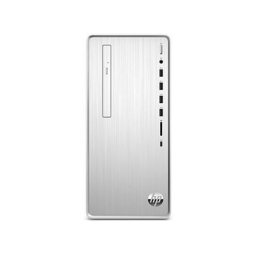 HP - Pavilion Desktop -AMD Ryzen 5 4600G - 12GB - 512GB SSD - Natural Silver
