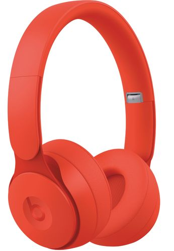 Beats by Dr. Dre - Geek Squad Certified Refurbished Solo Pro Wireless Noise Cancelling On-Ear Headphones - Red
