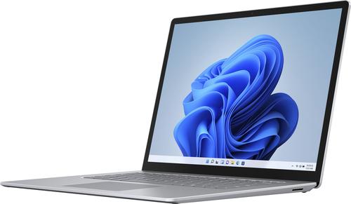 "Microsoft - Surface Laptop 4 - 15"" Touch-Screen – AMD Ryzen™ 7 Surface® Edition – 8GB Memory - 512GB SSD (Latest Model) - Platinum"