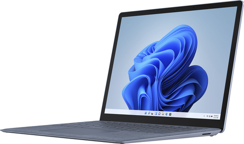 """Microsoft - Surface Laptop 4 - 13.5"""" Touch-Screen – Intel Core i5 - 8GB Memory - 512GB Solid State Drive (Latest Model) - Ice Blue"""