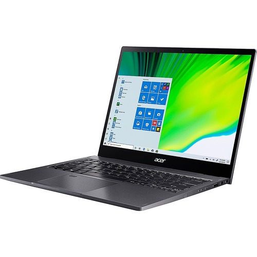 """Acer - Spin 5 SP513-54N 13.5"""" Laptop - Intel Core i5 - 8 GB Memory - 256 GB SSD - Steel Gray"""