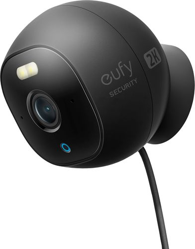 eufy - Security Outdoor Cam 2k Spotlight Wired - Black