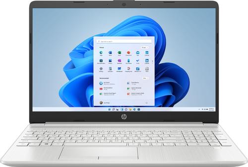 "HP - 15.6"" Laptop Intel Core i3 - 8GB Memory - 256GB SSD - Natural Silver"