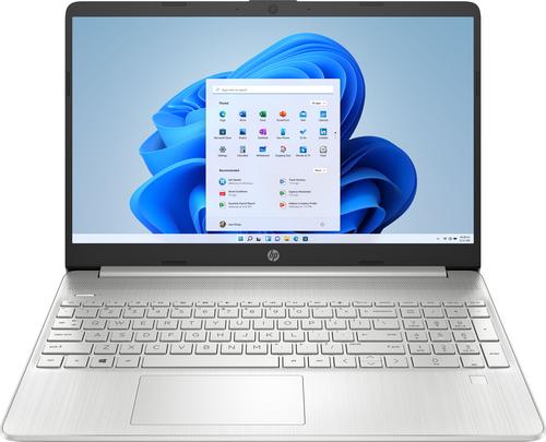 "HP - 15.6"" Laptop Intel Core i5 - 8GB Memory - 256GB SSD - Natural Silver"