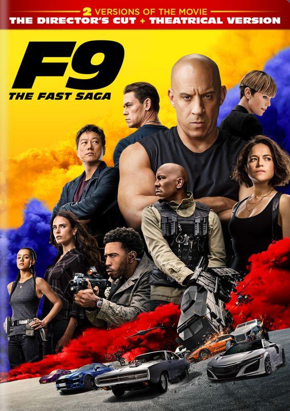 F9: The Fast Saga [DVD] [2021]