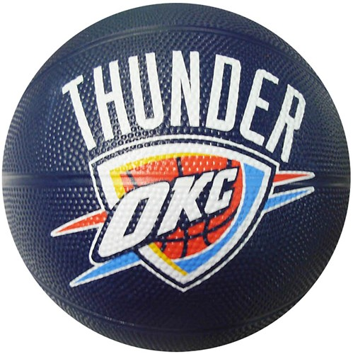 Spalding Oklahoma City Thunder Mini Basketball 65 549T
