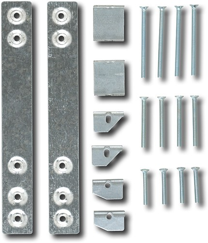 ge under cabinet mounting kit for select microwaves silver