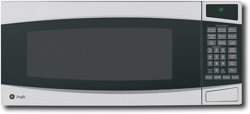 ge profile spacemaker 1 0 cu ft mid size microwave stainless steel