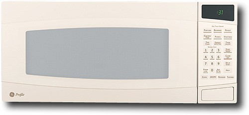 ge profile spacemaker ii 1 0 cu ft mid size microwave bisque on bisque