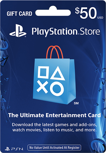 SONY - $50 PLAYSTATION NETWORK CARD
