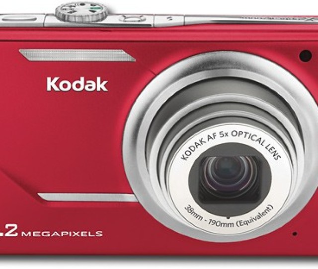 Kodak Easyshare 10 2 Megapixel Digital Camera Red