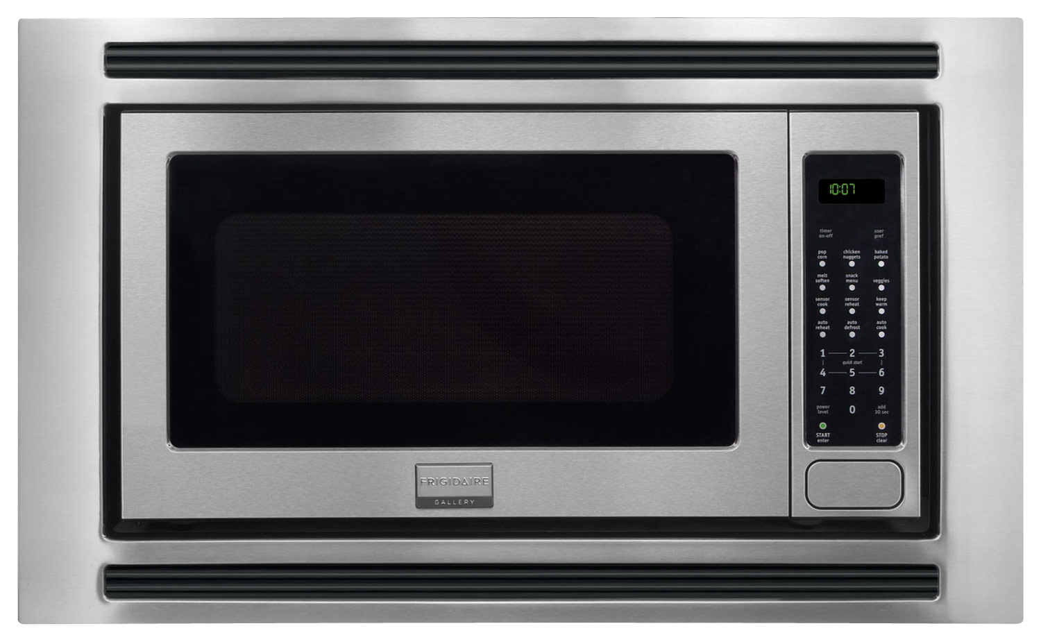 frigidaire gallery 2 0 cu ft built in microwave stainless steel