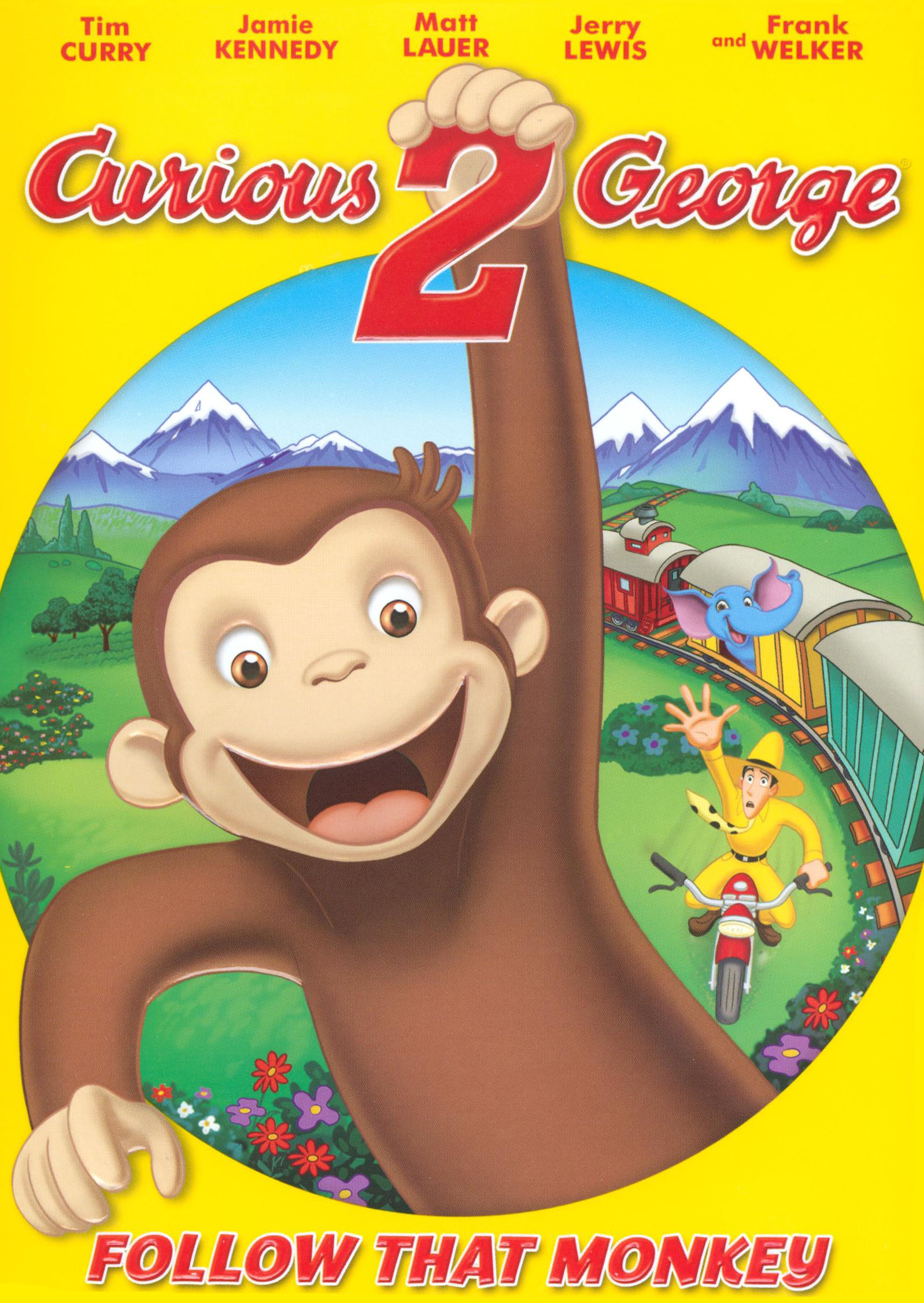 Curious George 2 Follow That Monkey Dvd