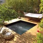 La piscine carrée AQUADISCOUNT, la piscine la plus zen de sa catégorie