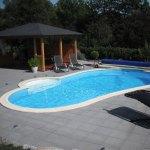 La piscine haricot Aquadiscount pour une piscine unique
