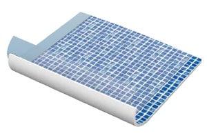 Liner de type alkorplan qui accepte les contraintes d'une eau à température plus élevée